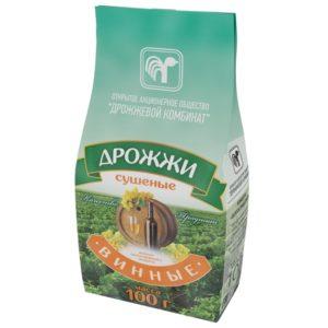 """Дрожжи сушеные """"ВИННЫЕ"""" 100 гр. (Белоруссия)"""