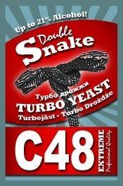 """Турбо дрожжи """"Double Snake"""" С48 130 гр."""