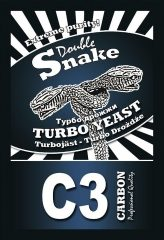 "Турбо дрожжи ""Double Snake"" Carbon (с углём) 120 гр."