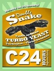 """Турбо дрожжи """"Double Snake"""" С24 175 гр."""