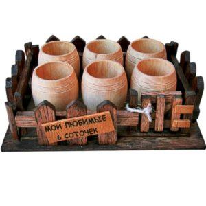 Набор стаканов «Мои любимые 6 соточек»