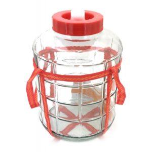 Бутыль GL-9 литров с гидрозатвором