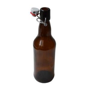 "Бутылка 0,7 литра ""Крафт"" (бугельная пробка)"
