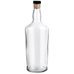 Бутылка 0,7 литра «Виски» (с пробкой)