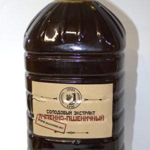 Солодовый экстракт ЯЧМЕННО-ПШЕНИЧНЫЙ