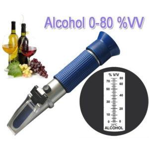 Рефрактомер-спиртомер 0-80%