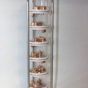 Колпачковая колонна 2 дюйма 6 тарелок